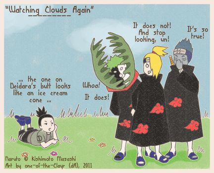 - Watching Clouds Again - by one-of-the-Clayr