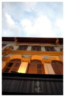 Shophouses 1 by Madmenu