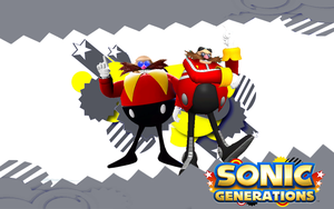 Sonic Generations-Eggman and Classic Eggman by NIBROCrock