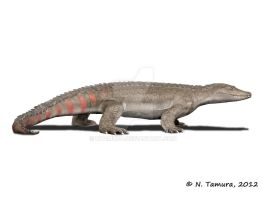 Theriosuchus by NTamura