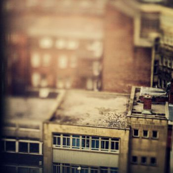 miniature city by betiti