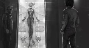 Wasp suit reveal keyframe for the Ant-Man movie by Ubermonster