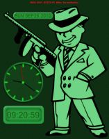 Fallout 3 Clock and Calendar by The-CA