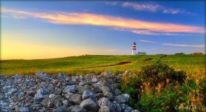 Alnes Lighthouse by dr-phoenix