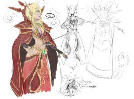 female Kael'thas by phoenixflorid