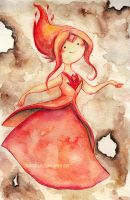 flame princess by Marmaladecookie