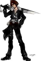 .:: Squall Dissidia ::. by mrs-voorhees09