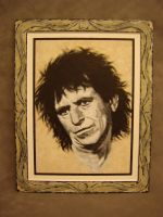 Keith Richards The Rolling Stones by ana512