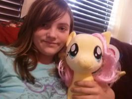 Me And Fluttershy 4 by Chibi-Rainbow