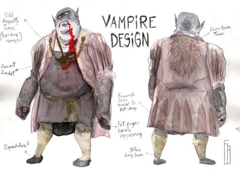 Vampire Design by The-Mekgineer