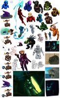more Halostuck and wow ODSTstuck by Hanna-Cepeda