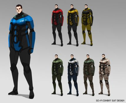 Security Suit Design by Taexhn