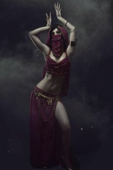 Belly Dancer Mileena by AkinaGasai