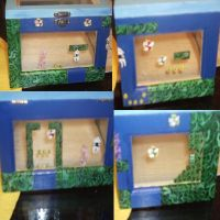 Mario underwater level box by cutiechibi