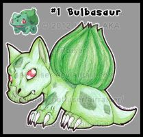 Pokemon: Bulbasaur 2012 by AirRaiser