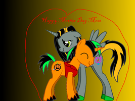 Happy Mother Day from my mom by Mr-Bloodyjack