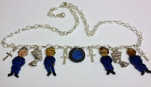Kawaii Stargate SG-1 charm necklace by Lovelyruthie