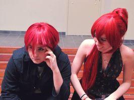 Rin and Gou: Shut up by rdjass