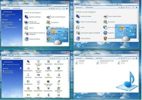 blue sky shellstyle win7 xp by PeterRollar
