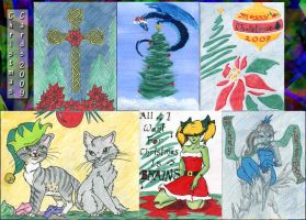 Christmas Cards 2009 by kzinrret