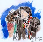 Steven Tyler and Joe Perry by Benjiji