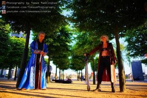 dante and vergil standing by DanteJackpot