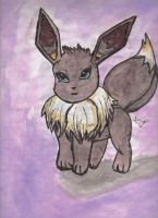 eevee by angelthanatos
