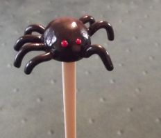 Spider Hairstick by MeticulousBlue