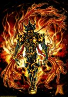 Amon Ignited Form by benbal