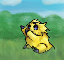 Pokemon 595 Joltik by Ferret-X
