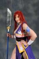 Erza Scarlet (Robe of Yuen) Cosplay 2 by EternalZarya