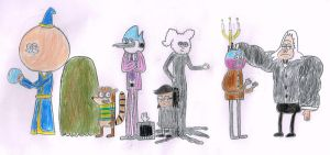 The Quintel Family by s233220