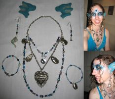 Sea Goddess Jewelry by angelwingkitty
