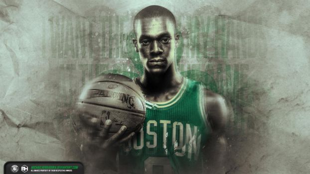 Rajon Rondo wallpaper by michaelherradura
