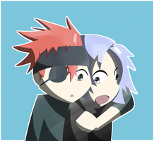 Allen And Lavi by IDontKnowWhyBut