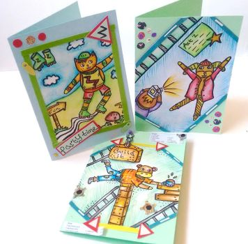 Card designs by twopixies