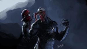 VENOM! by martianzombie