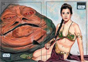 """Jabba's Favorite Decoration"" by MJasonReed"