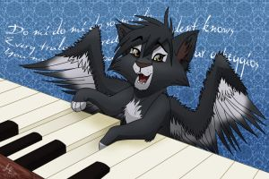 Scales and Arpeggios - Giftart by Pestdoktor