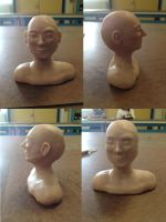 .:My Head Sculpture:. by CrazyMeliMelo