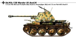 Sd Kfz 138 Marder III Ausf H by nicksikh