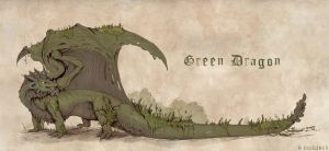 Green Dragon by etrii