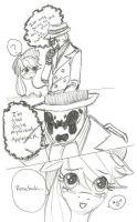 Rorschach and Applejack - Heartfelt Admittance by XxTaraxKitaidexX
