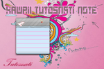 Kawaii Tutos Nati Note [XWIDGET] by TutosNatiSUB