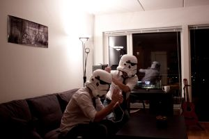 Daily life of a Stormtrooper, pt. 9 by Alakdagnirion