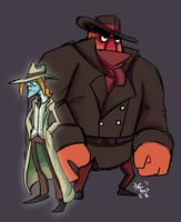 Detective Duo by Olive-Owl