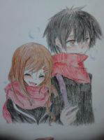 Shintaro and Ayano by Grumpykuma