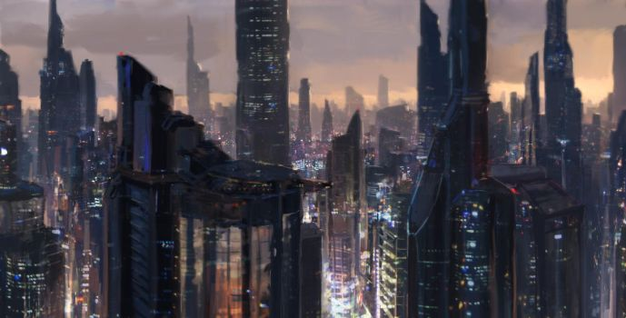 Japan 2070 by merl1ncz