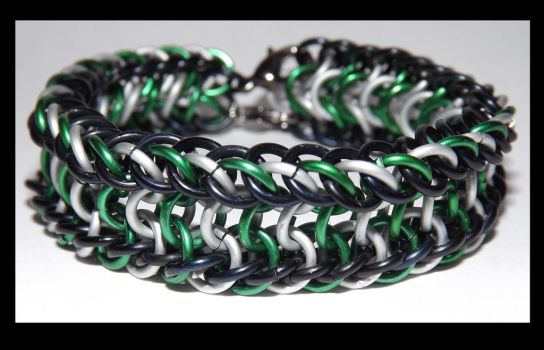 Commission~ team slytherin colored cuff by last-breath-of-life