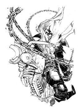 GHOST RIDER_90 minutes by EricCanete